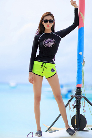 BIG BASE WOMAN RASHGUARD (RT0025) [S]