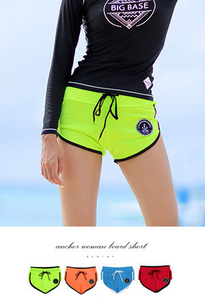 ANCHOR2 WOMAN BOARD SHORT