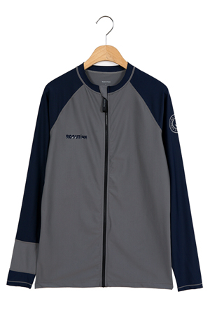 OCEAN ZIP-UP MAN RASHGUARD (RT0042-3)